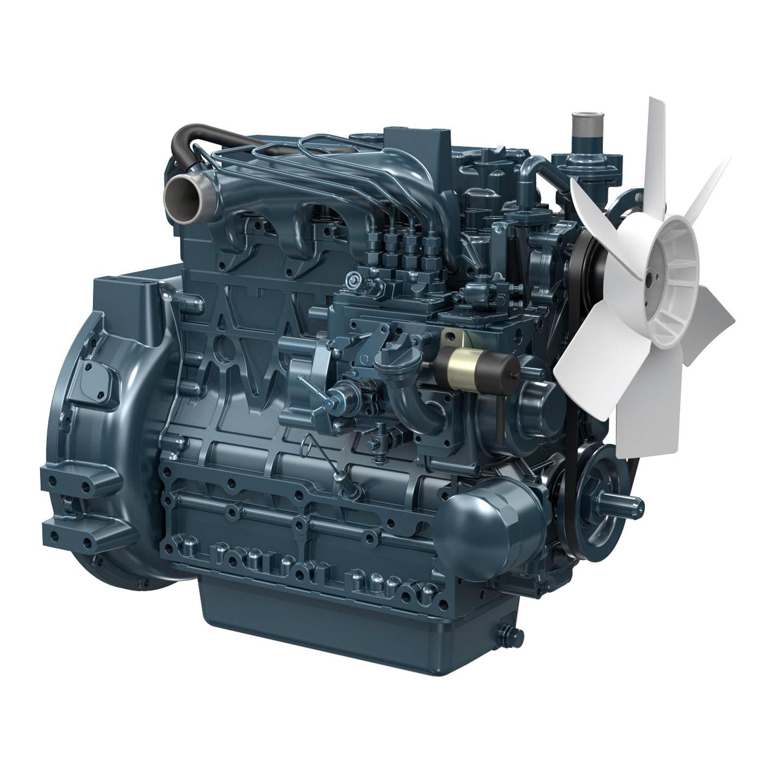 Kubota Engine V2203-E2BG - 24KVA 60Hz Image