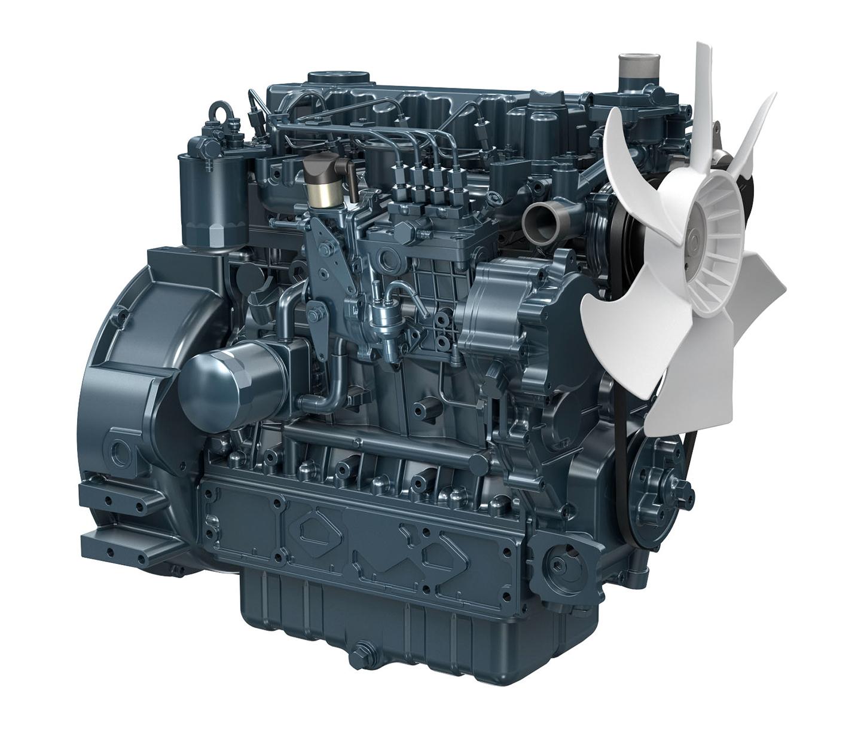 Kubota Engine V3300-E2BG - 36KVA 60Hz Image