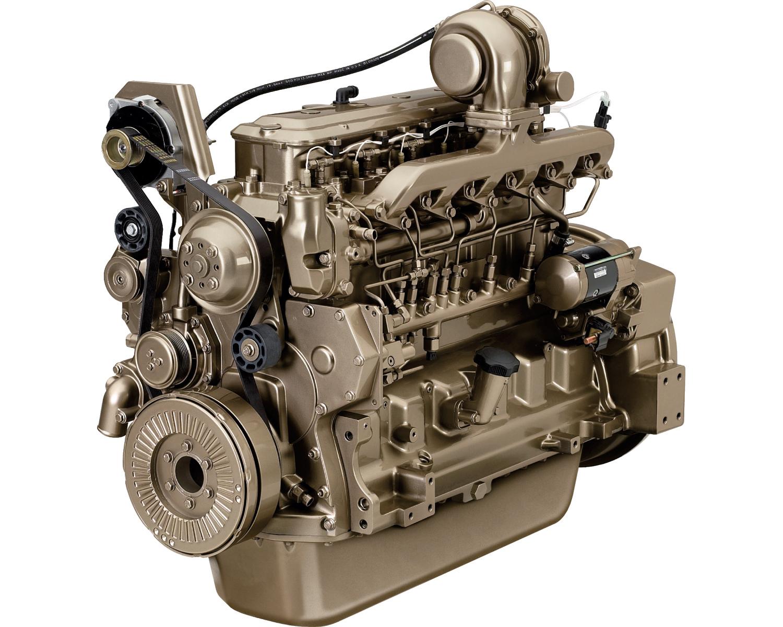 John Deere Diesel Engine 6068TF258 120 KVA - 1500 rpm Image
