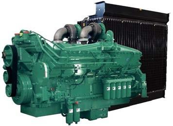 Cummins Diesel Engine KTA-38-G3 1025KVA 1800rpm Switchable Image