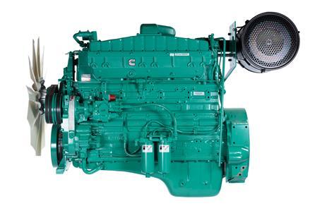 Cummins Diesel Engine NT855-G6-325KVA 1800rpm Switchable Image
