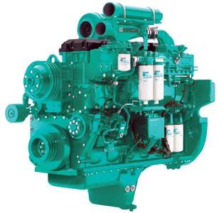 Cummins Diesel Engine QSK23-G3-900KVA 1800rpm Switchable Image