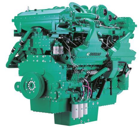 Cummins Diesel Engine QSK60-G7-2300KVA 1800rpm Switchable Image