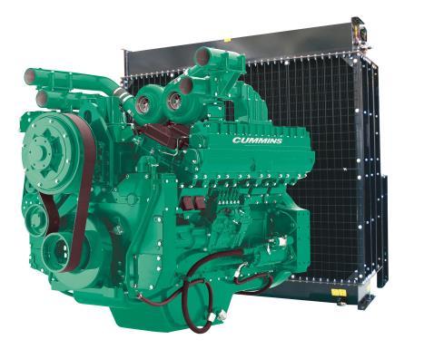 Cummins Diesel Engine QST30-G3-1000KVA 1800rpm Switchable Image
