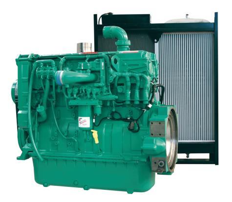 Cummins Diesel Engine QSX15-G6-450KVA 1800rpm Switchable Image