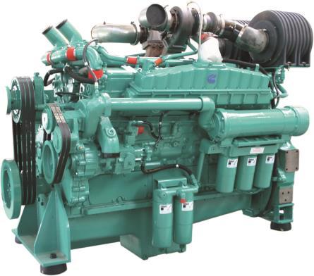 Cummins Diesel Engine VTA28-G5-680KVA 1800rpm Switchable Image